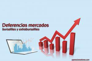 Diferencias entre mercado bursátil y extrabursátil