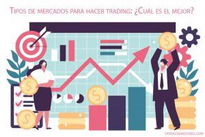 Tipos de mercados para hacer trading: ¿Cuál es el mejor?