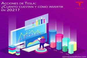 Acciones de Tesla: ¿Cuánto cuestan y cómo invertir en 2021?